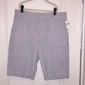 Gap Bermuda Seersucker Shorts